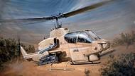 Italeri  1/48 Bell AH1W Super Cobra Helicopter ITA833