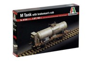 M Tank Car with Brakeman's Cab #ITA8706