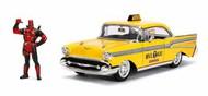 Jada Models  1/24 Deadpool Taxi w/Deadpool Figure JAD30290