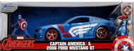 Avengers 2006 Ford Mustang GT w/Captain America Figure #JAD31187