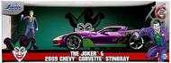 2009 Chevy Corvette Stingray w/Joker Figure #JAD31199