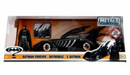 Jada Models  1/24 1995 Batman Forever Batmobile w/Batman Figure JAD98036