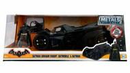 Jada Models  1/24 2017 Batman Arkham Knight Batmobile w/Batman Figure JAD98037