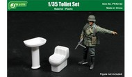 Toilet & Pedestal Sink (Assembled Plastic) #JWM3122