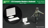 Computer Monitor & Keyboard (Assembled Plastic) #JWM3124