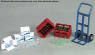 Drinks Set: Soda & Water Bottles, Boxes/Crates, Hand Truck (Resin Kit) #JWM3129