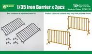 Iron-Type Barriers (2pcs) (Resin Kit) #JWM3132