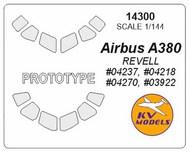 KV Models  1/144 Airbus 380 (prototype mask) KV14300