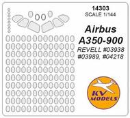 KV Models  1/144 Airbus A350-900 Masks KV14303