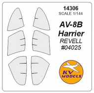 KV Models  1/144 McDonnell-Douglas AV-8B Harrier II / AV-8B Harrier II plus KV14306