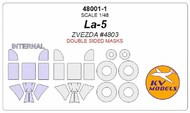 Lavochkin La-5 - Double-sided masks + wheels masks #KV48001-1