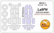 Lavochkin La-5FN - Double-sided masks + wheels masks #KV48012-1