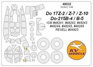 Dornier Do.17Z-2Do.17Z-7/Do.17Z-10/Do.15B-4/Do.15B-5 #KV48032