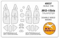 Mikoyan MiG-15bis - Double-sided masks #KV48037