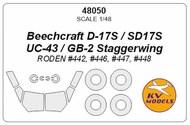 Beechcraft D-17 Staggerwing #KV48050