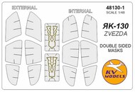 Yakovlev Yak-130 - Double-sided masks +wheels maskS #KV48130-1