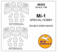 Mil Mi-1 - Double-sided masks + wheels masks #KV48202