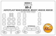 Mil Mi-2 - Double-sided masks + wheels masks #KV48204-1