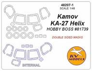 Kamov KA-27 Helix - Double sided masks + wheels masks #KV48207-1