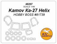 Kamov KA-27 Helix + wheels masks #KV48207