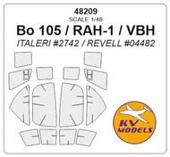 MBB Bo 105 masks #KV48209