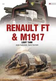Kagero Books   N/A Photosniper 3D: Renault FT & M1917 Light Tanks KAG0029