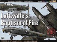 Kagero Books   N/A Collection - NO DECAL LOW PRICE Luftwaffe's Baptism of Fire KAG15030