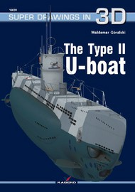 Kagero Books  N/A Super Drawings 3D: Type II U-Boat KAG16020