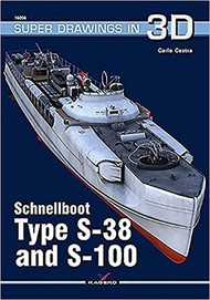 Kagero Books   N/A Super Drawings 3D: Schnellboot Type S38 & S100 KAG16056