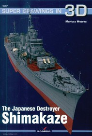 Kagero Books   N/A Super Drawings 3D: Japanese Destroyer Shimakaze KAG16057