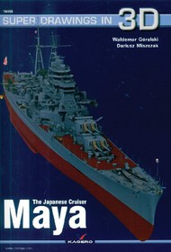 Kagero Books   N/A Super Drawings 3D: Japanese Cruiser Maya KAG16058