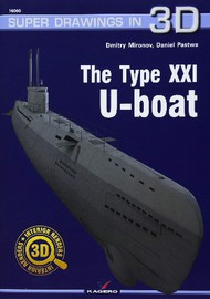 Super Drawings 3D: Type XXI U-Boat #KAG16060
