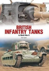 Kagero Books   N/A Photosniper 3D: British Infantry Tanks in World War II KAG23