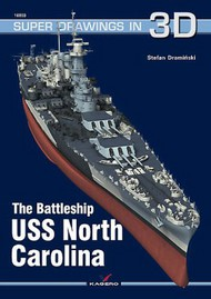 Kagero Books   N/A The Battleship USS North Carolina KAG6360
