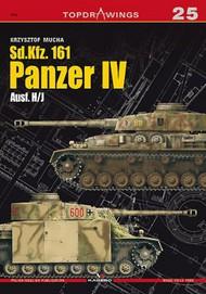 Kagero Books   N/A Topdrawings: Sd.Kfz 161 Panzer IV Ausf H/J KAG7025