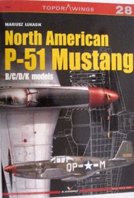 Kagero Books   N/A Topdrawings: North American P-51 Mustang B/C/D/K Models KAG7028