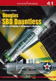 Kagero Books   N/A Topdrawings: Douglas SBD Dauntless SBD1-6, A24, A24A, A24B Banshee KAG7041