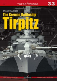 Kagero Books   N/A Topdrawings: German Battleship Tirpitz KAG7044