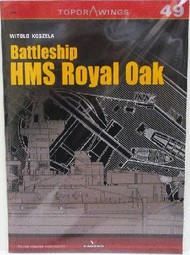 Kagero Books   N/A Top drawings: Battleship HMS Royal Oak - Pre-Order Item KAG7049