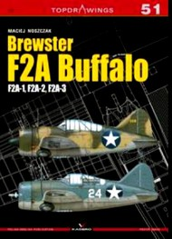 Kagero Books   N/A Top drawings: Brewster F-2A Buffalo F2A1, F2A2, F2A3 KAG7051
