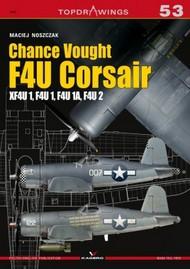 Topdrawings: Chance Vought F4U Corsair XF4U, F4U1, F4U1A, F4U2 #KAG7053