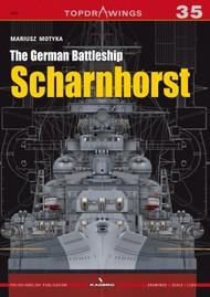 Kagero Books   N/A Topdrawings: German Battleship Scharnhorst KAG7105