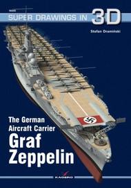 Kagero Books   N/A Super Drawings 3D: German Aircraft Carrier Graf Zeppelin KAG7143
