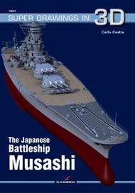 Kagero Books   N/A Super Drawings 3D: Japanese Battleship Musashi KAG7235