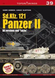 Kagero Books   N/A Topdrawings: Sd.Kfz 121 Panzer II All Versions & Luchs KAG7273