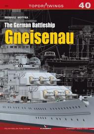 Kagero Books   N/A Topdrawings: German Battleship Gneisenau KAG7297