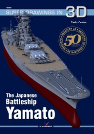 Kagero Books   N/A Super Drawings In 3D: Japanese Battleship Yamato KAG7310