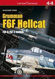 Kagero Books   N/A Grumman F6F Hellcat F6F-3, F6F-5 Models KAG7563