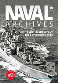Naval Archives. Volume 10 Super-destroyers of the Sovremenny Type #KAG8000