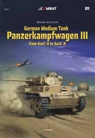 inCombat #1: Panzerkampfwagen III from Ausf. H to Ausf. N #KAG88001